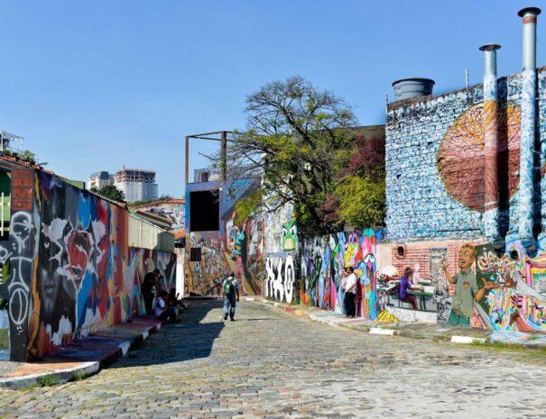 Street Art Tour in Sao Paulo